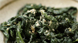 Spinach namul