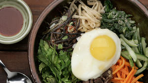 Bibimbap (Mixed rice)