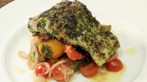 Canele's pan-seared snapper