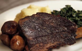 Kendall's Brasserie's braised beef short ribs