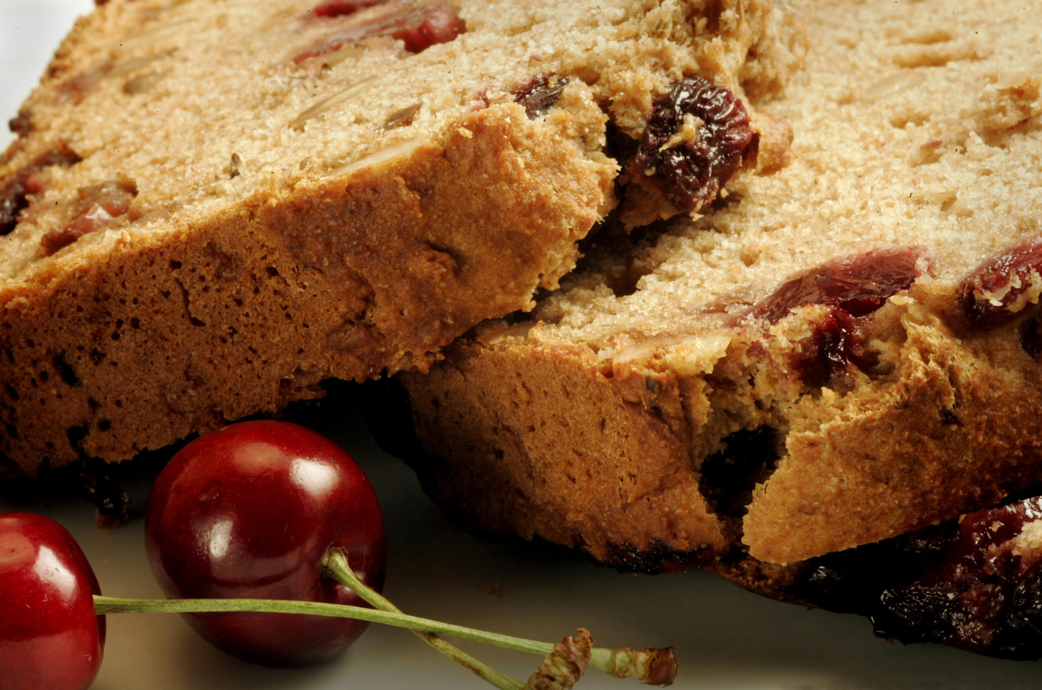 Cherry, honey and fennel bread