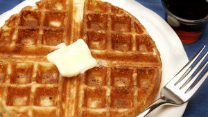 Jacqueline Kennedy's waffles
