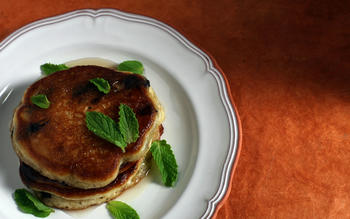 Olive oil pancakes