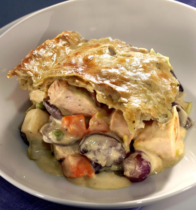 Turkey Potpies Recipe: Recipe: Turkey Pot Pie