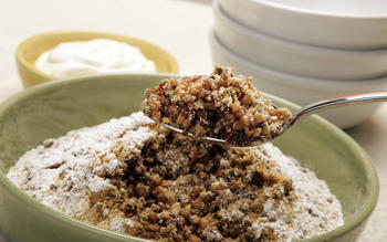 Koliva (Greek wheat berry dessert)