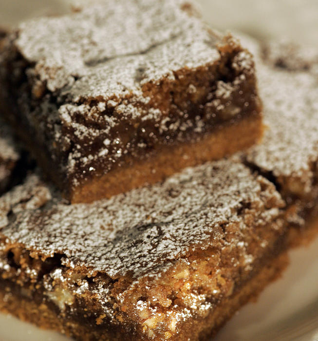 Julienne's graham cracker chewy bars