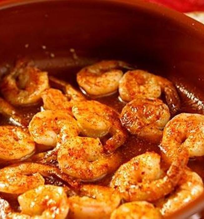 Recipe Sizzling Shrimp With Garlic And Hot Pepper