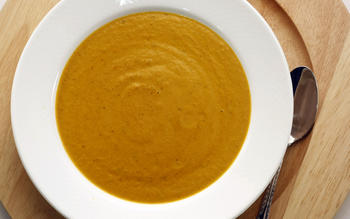 Lumberyard Restaurant's roasted tomato bisque