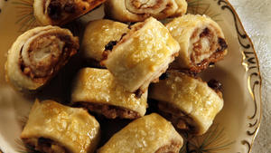 Sour cherry rugelach