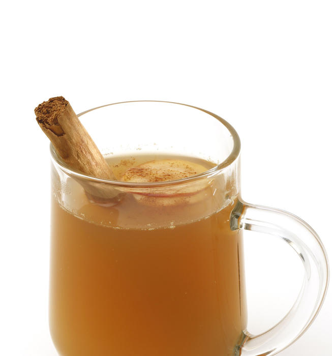 Hot cider toddy