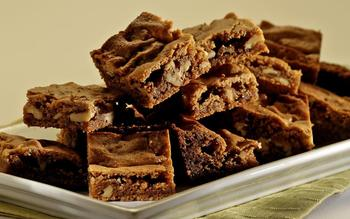 Clementine's butterscotch brownies