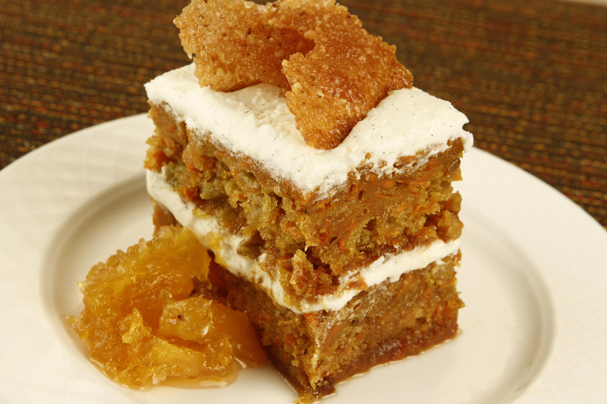 Recipe Carrot Cake With Pineapple Marmalade La Times