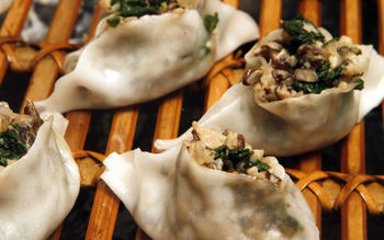 White lotus dumplings