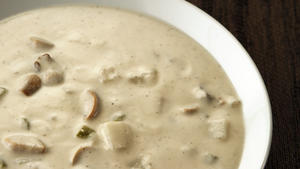 Vegan 'clam' chowder