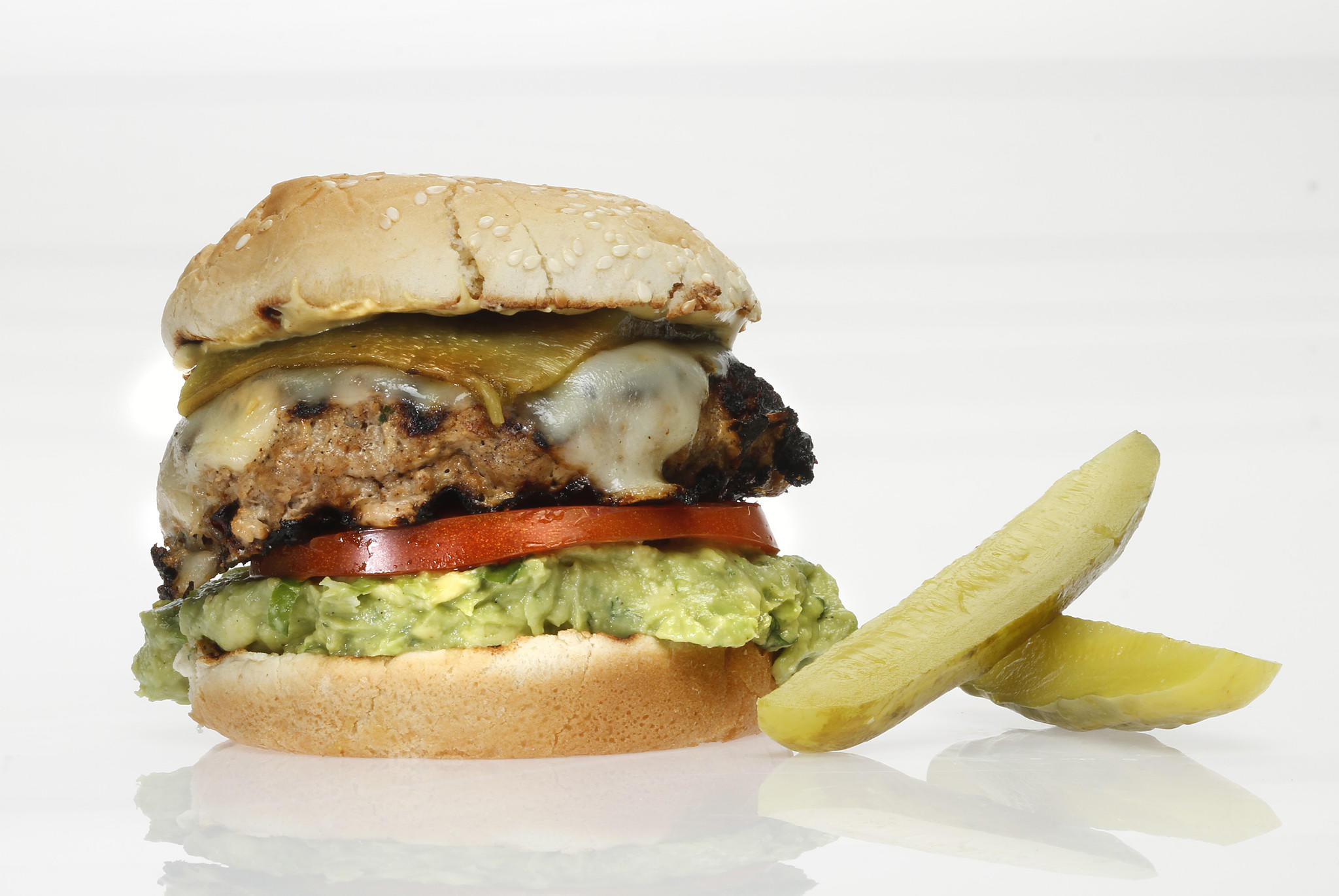 Southwest turkey burger