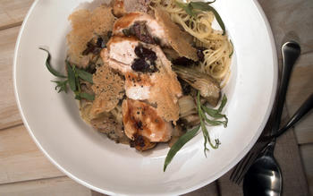 Mediterranean Chicken and Capers