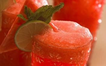 Watermelon cooler (agua de sandia)