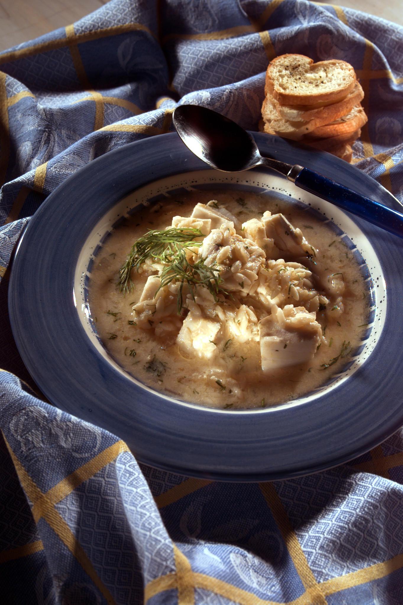 Recipe Avgolemono Soup With Cod California Cookbook
