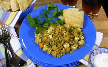 Herbed Couscous Salad With Apricots