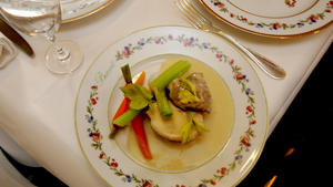 Blanquette de veaux in traditional style