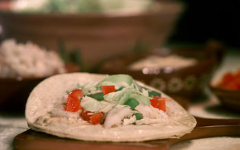 Grilled Halibut Soft Tacos