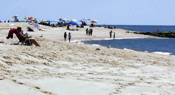 Hurricane Sandy widened some Jersey Shore beaches
