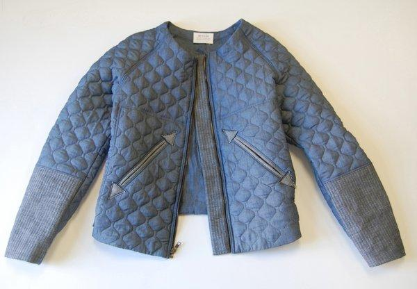 quilted fencing jacket - photo #14
