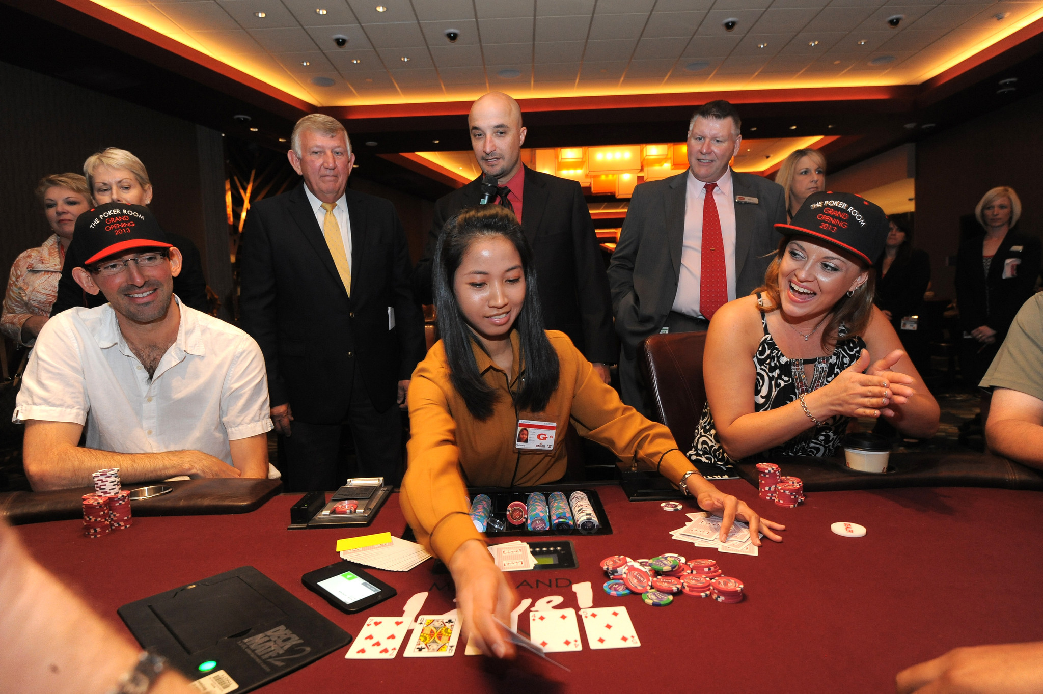 maryland live casino poker room house greets new room at maryland live 20661