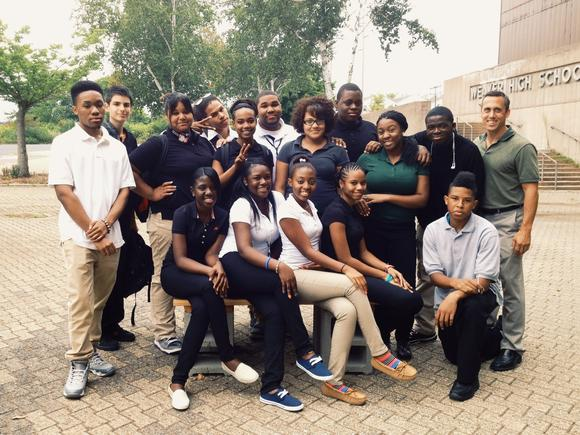 Student Leadership Team at Weaver's Culinary Arts Academy