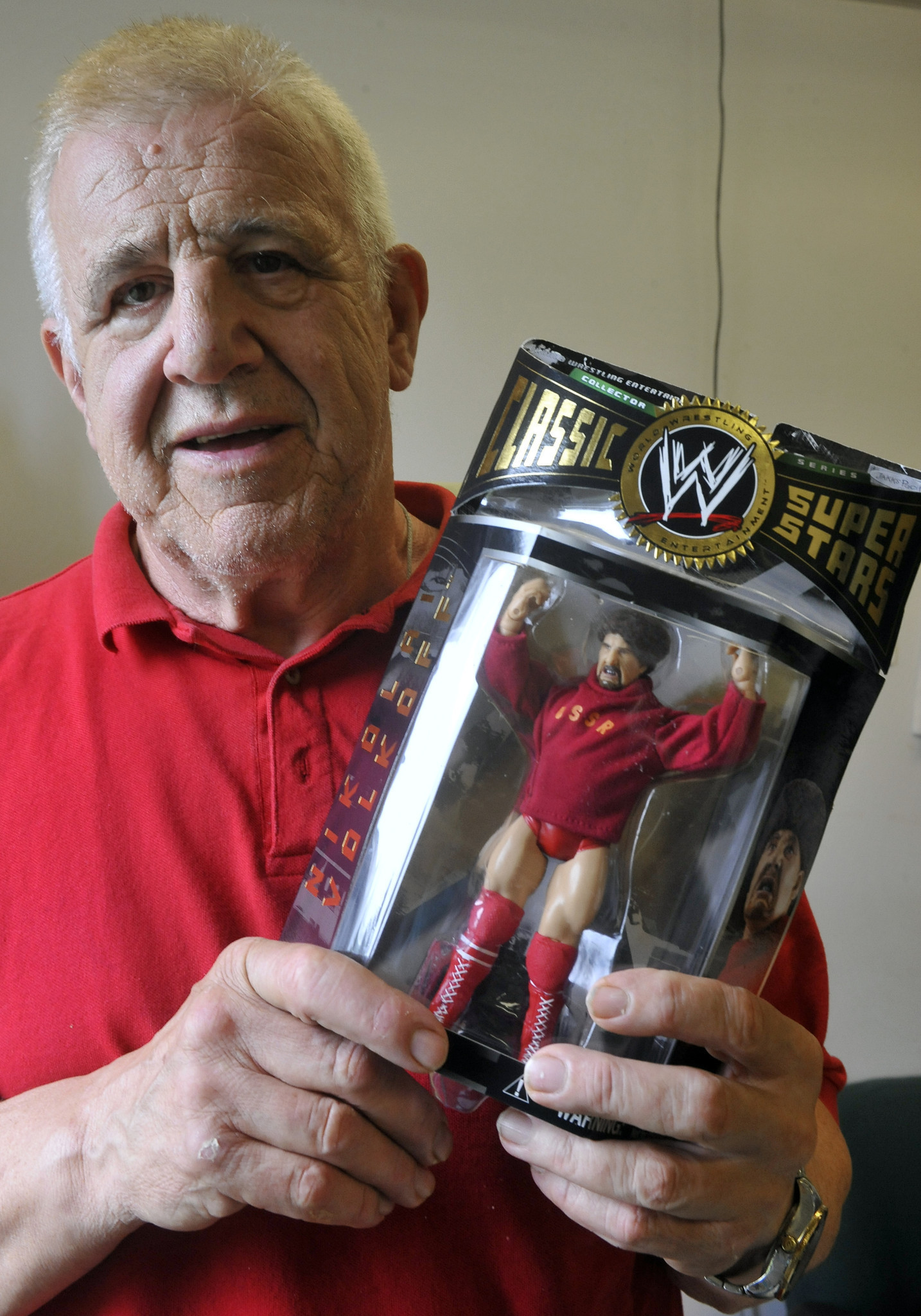 Retired Professional Wrestler Nikolai Volkoff Turns His