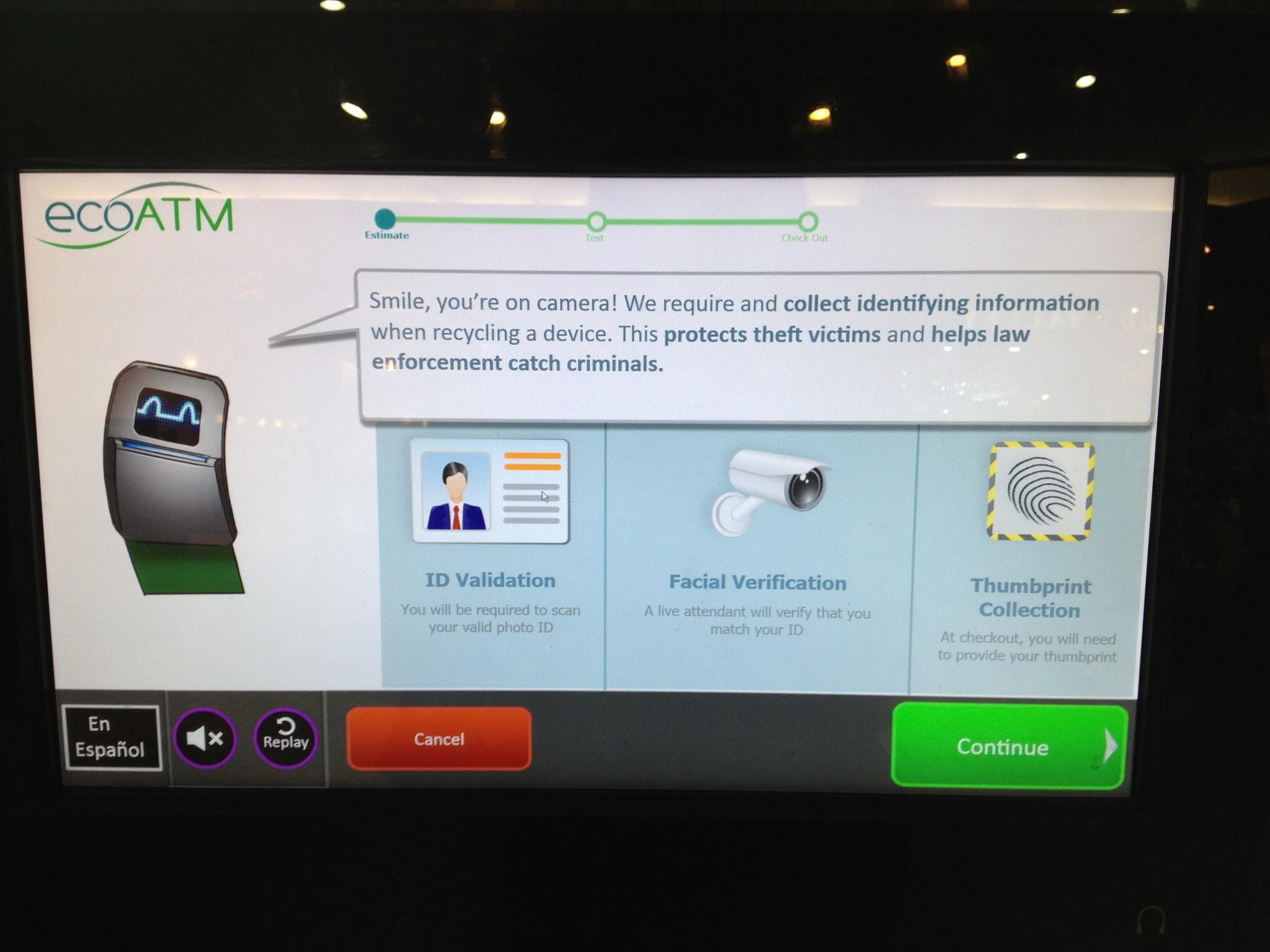 Baltimore City Council bans cell-phones-for-cash machines