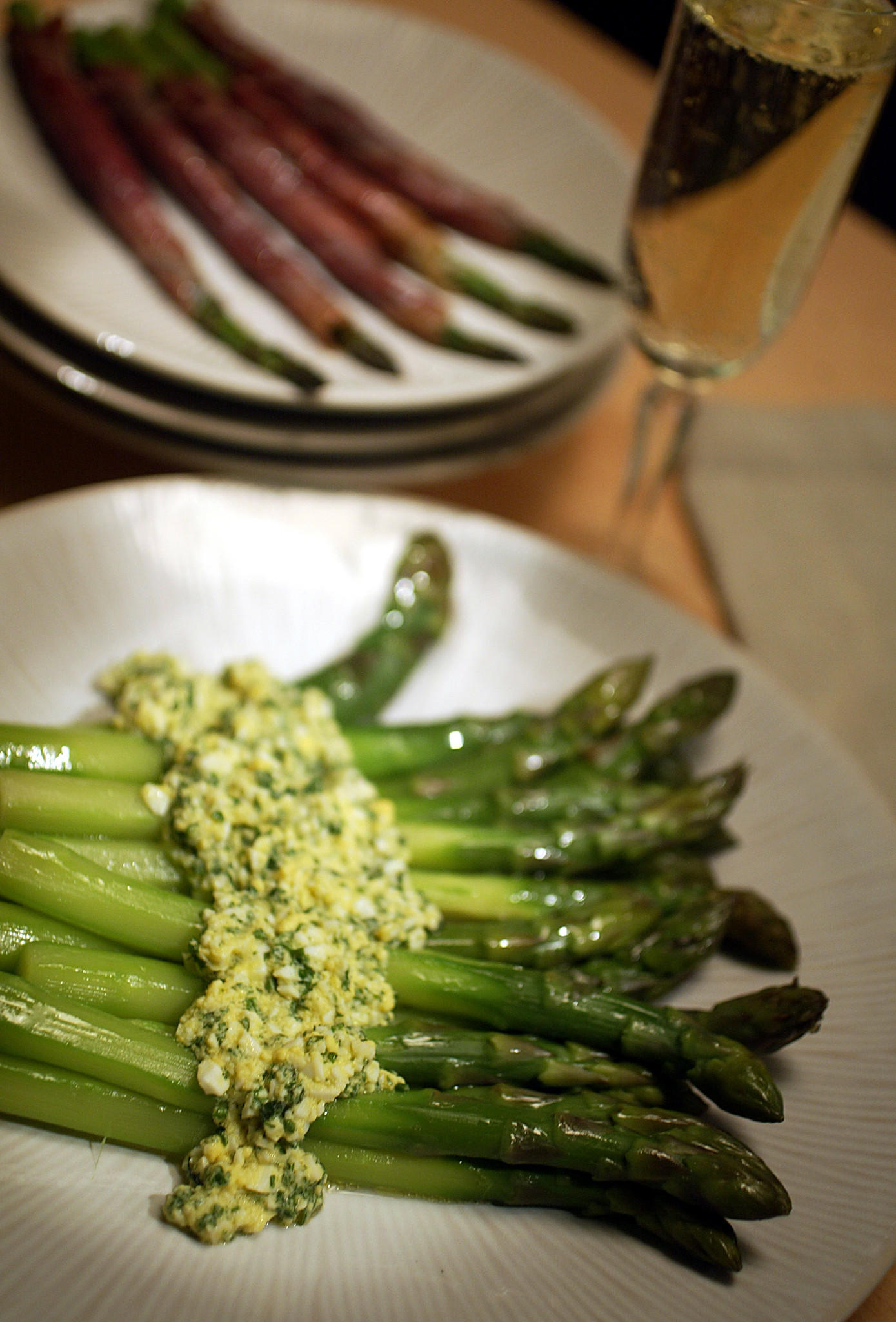 Recipe Asparagus In Sauce Mimosa California Cookbook