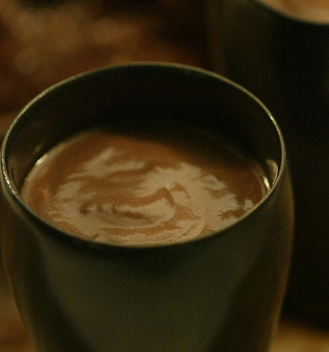 Spanish hot chocolate (chocolate a la taza)