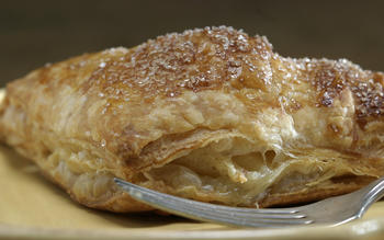 Pear frangipane turnovers