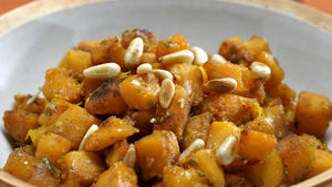 Caramelized winter squash