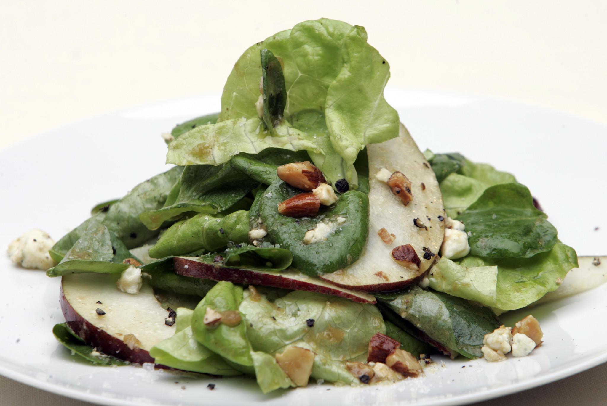Recipe: Butter lettuce salad with cipolline vinaigrette ...