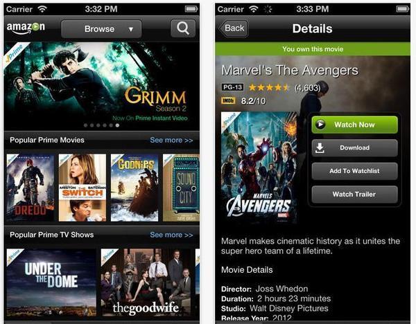 Amazon Instant Video App Iphone