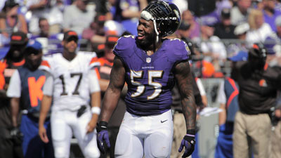 Suggs says commissioner Goodell 'had a hand' in lights going