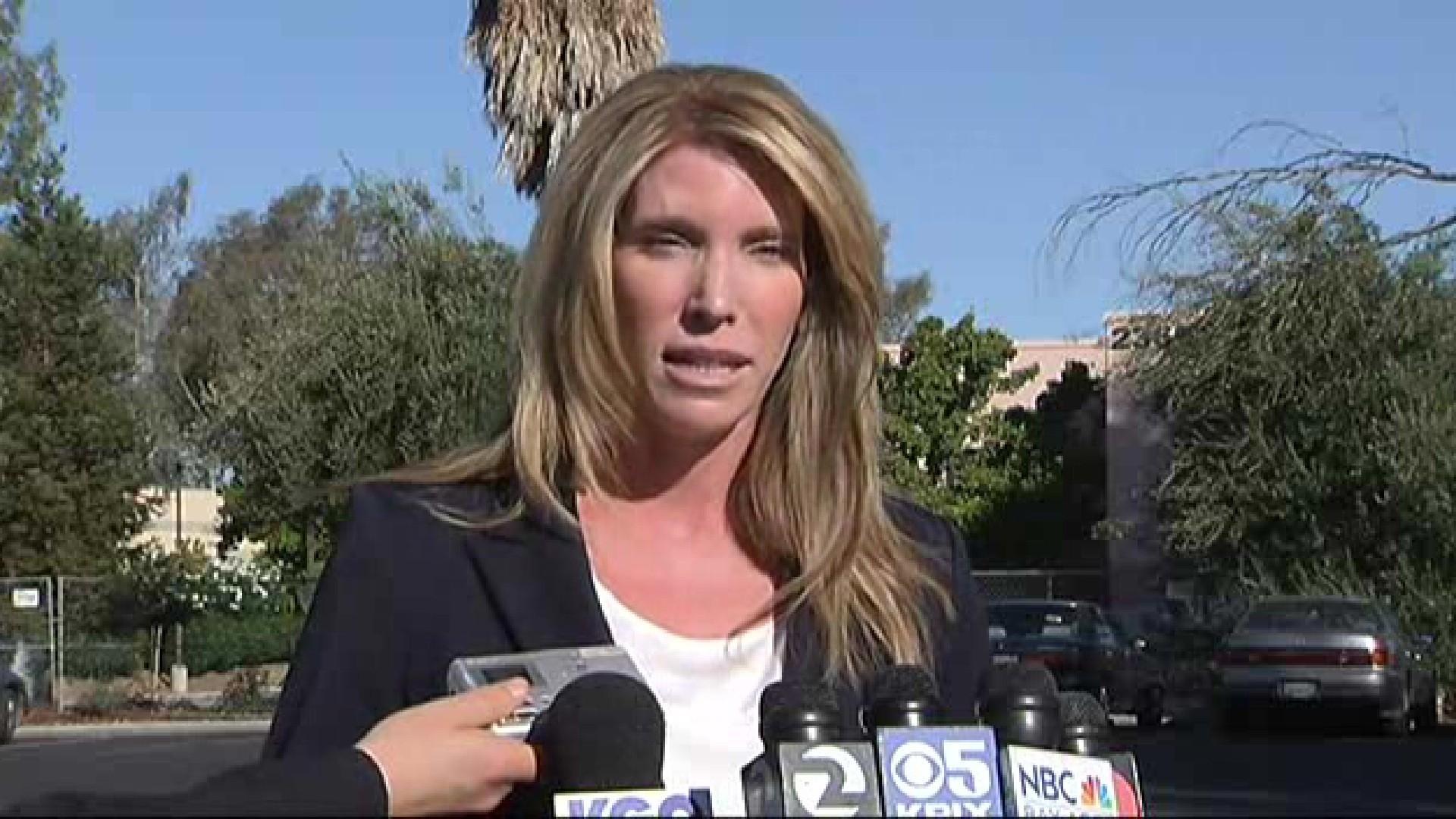SAN JOSE: Police news conference on small plane landing - LA