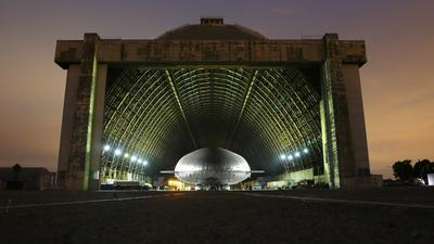 Partial Roof Collapse At Tustin Blimp Hangar 2nd Incident