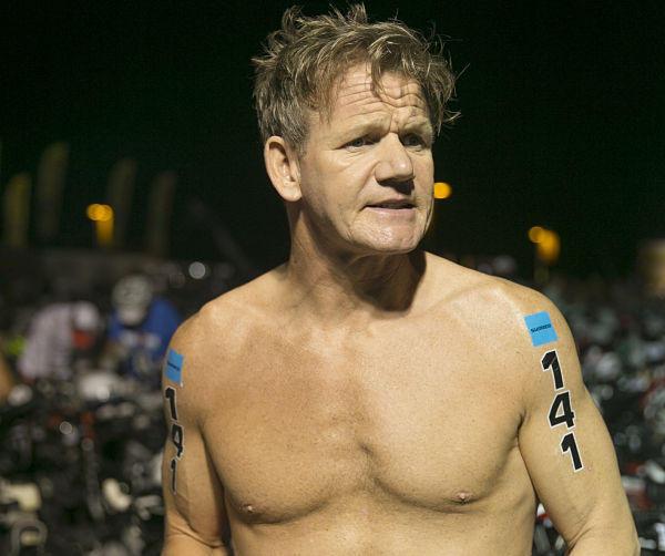 Gordon Ramsay Endures Hell, Finishes Hawaii Ironman In 14