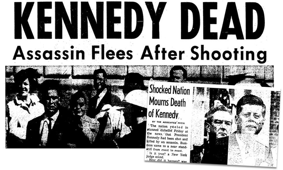 JFK assassination: The world mourns
