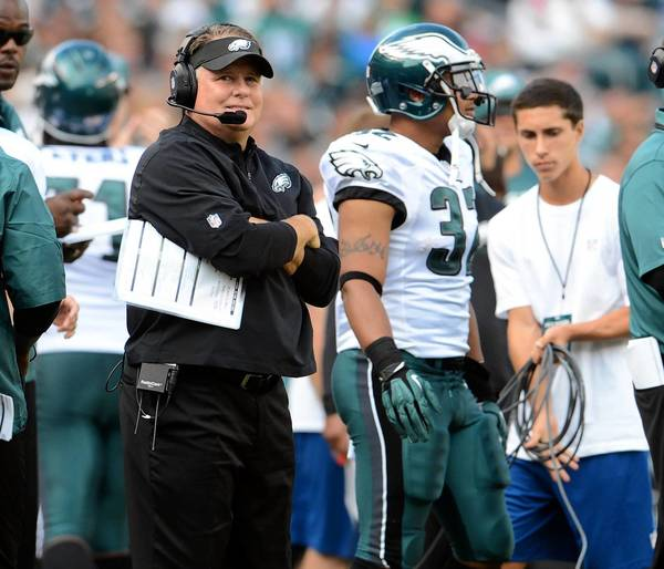 San Diego Chargers Head Coaches: Philadelphia Eagles Coach Chip Kelly Believes In His