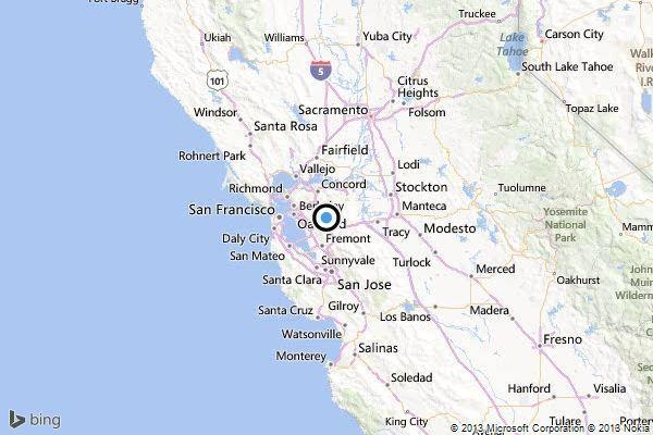 San Ramon Earthquake Map.Earthquake 3 0 Quake Strikes Near San Ramon Calif Latimes