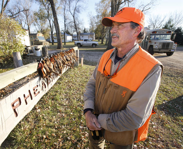Gene Toennies One Of The Owners Pheasant Fest Llc In Cresbard Talks About