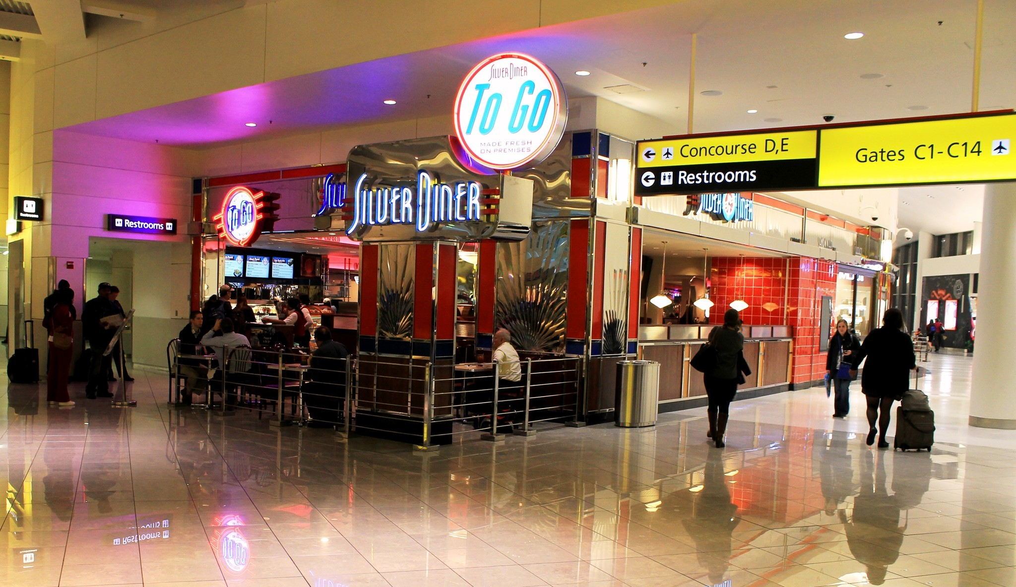 BWI airport food options - Baltimore Sun