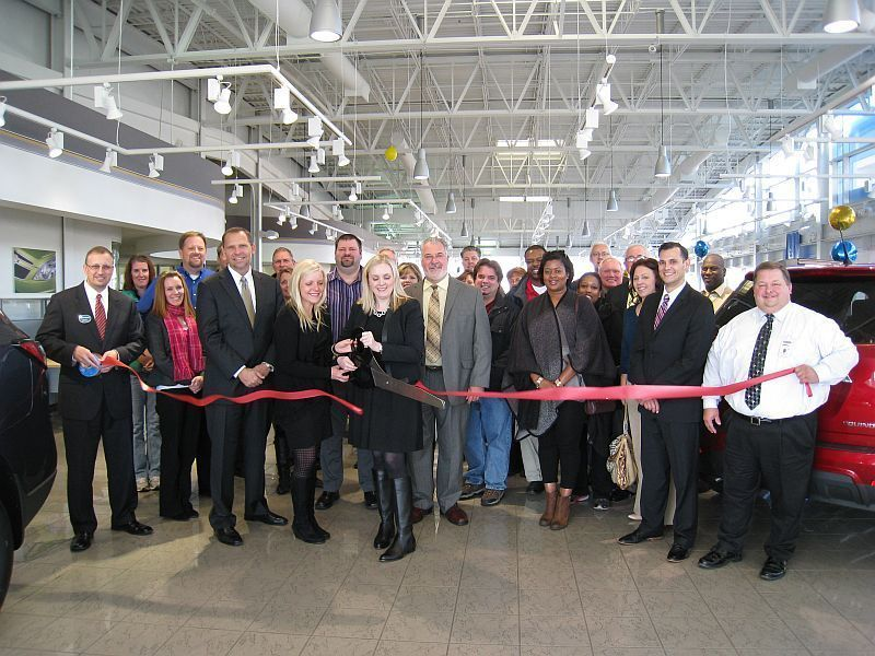Webb Chevrolet Held Its Ribbon Cutting With The Plainfield Area