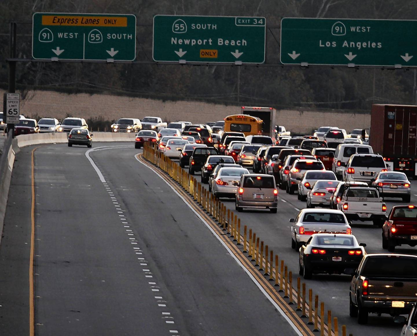 A poll on toll lanes - LA Times