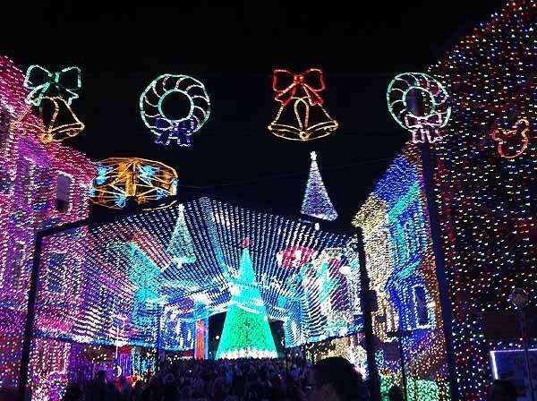 Cinderella Castle Christmas Lights