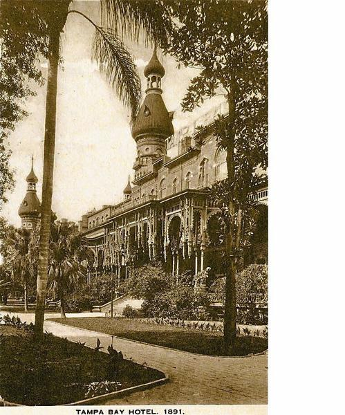 Florida history: Grand hotel's Moorish spires sparkled for
